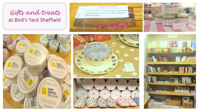 gifts at Bird's Yard Sheffield