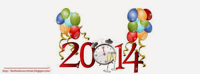 Belle couverture pour facebook bonne année 2014