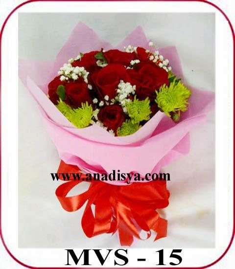 handbuket mawar valentine