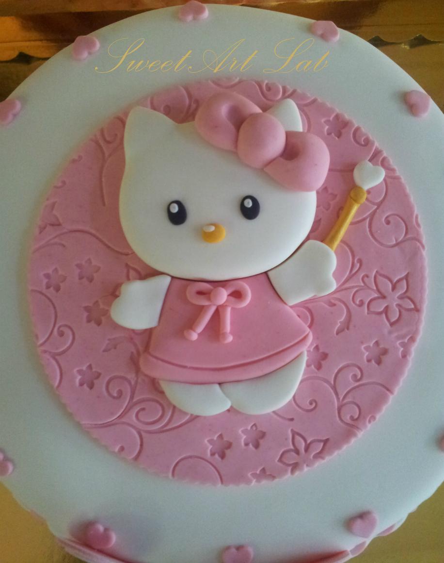 Pin Sweetart Lab Cake Design Torta Hello Kitty on Pinterest