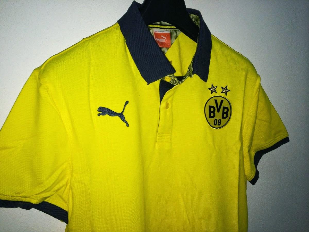 Kaos Polo Dortmund Kuning 2014-2015