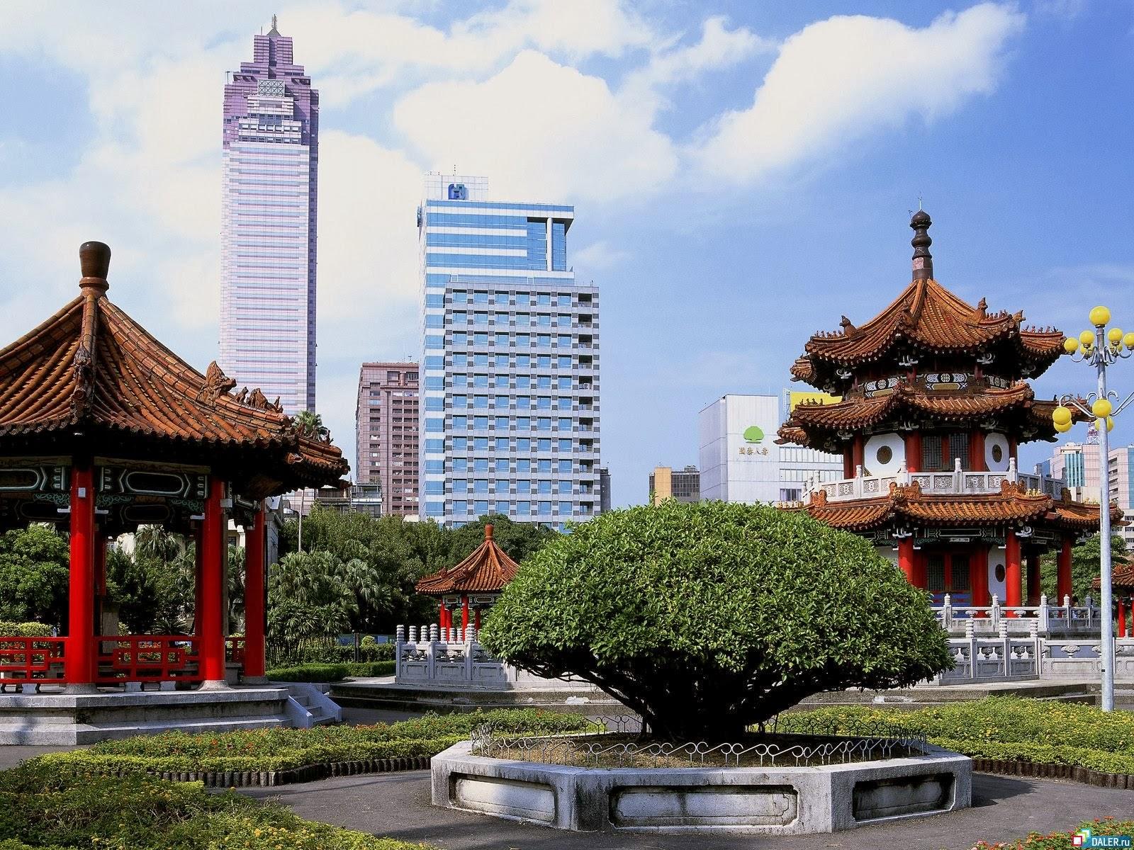 Города китая фото