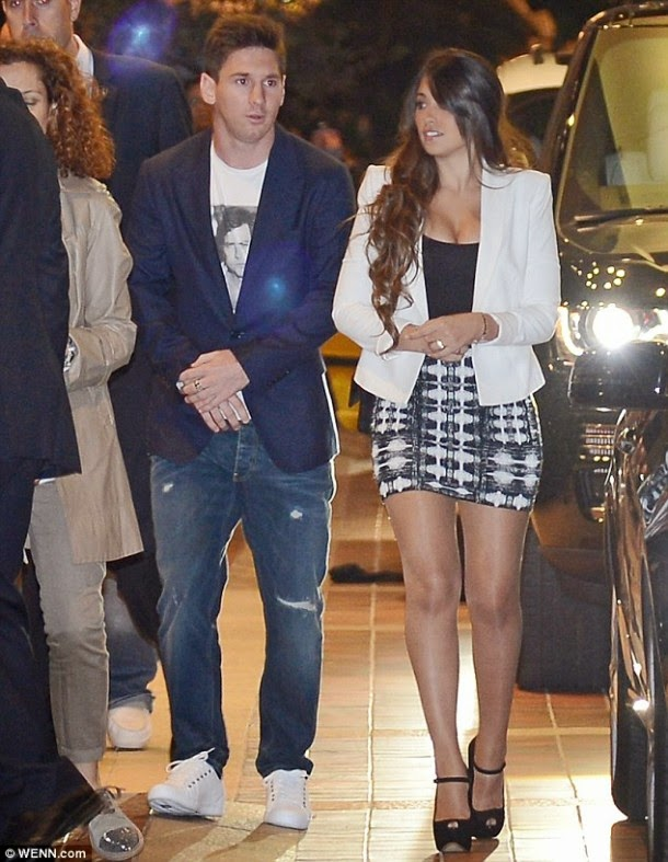 ... Blog: PHOTOS:Meet Messi's Parents,Siblings,Son And Girlfriend