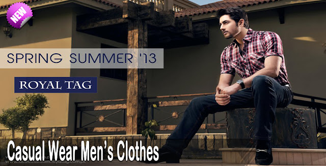 Men's Clothes | Royal Tag Casual Wear Collection 2013
