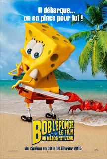 BOB L'EPONGE, Un héros sort de l'eau