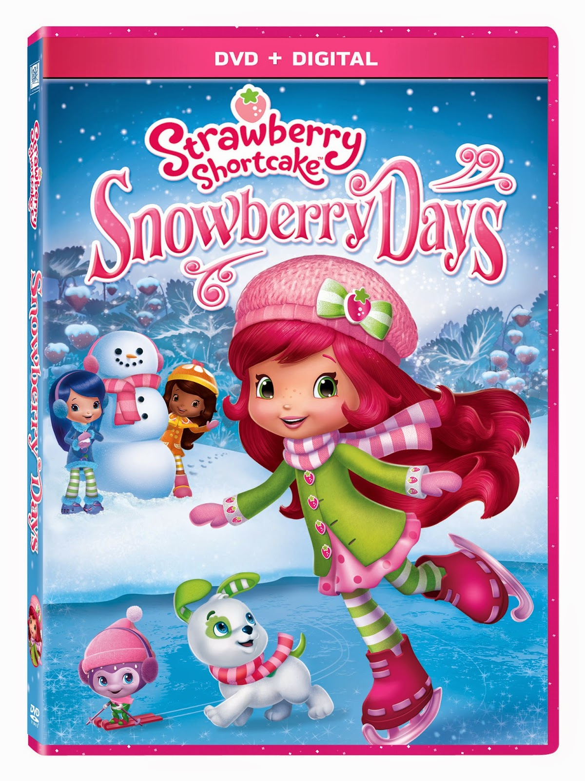 Mommy blog expert review strawberry shortcake kids dvd digital while its chilly outside children can enjoy winter fun indoors with this sweet new strawberry shortcake movie video episode havoc and hilarity break loose publicscrutiny Gallery