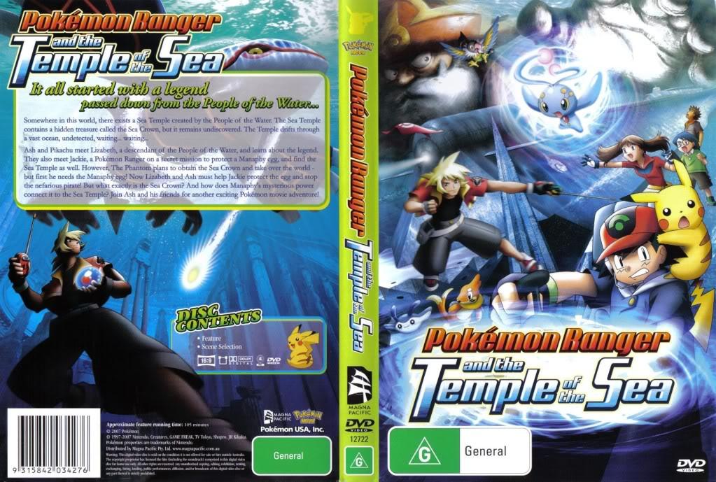 Pokemon Pelicula 09 - Pokemon Ranger y el Templo del Mar