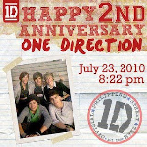 One Direction 2 años :D
