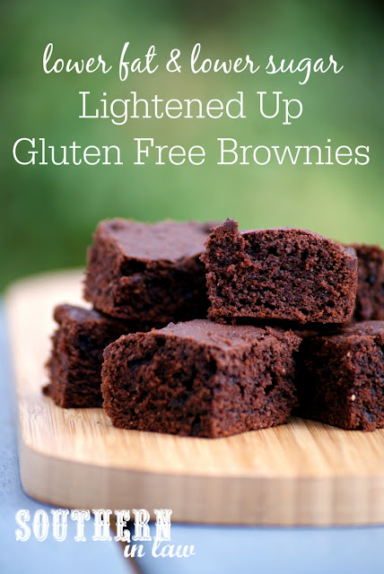 Healthier Brownie Recipe with Chewy Edges  low fat, gluten free, low sugar, refined sugar free, clean eating friendly, lightened up, healthy brownie recipes, gluten free