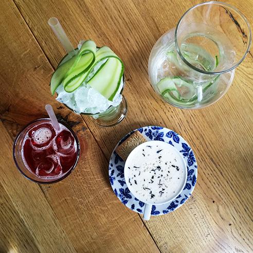 cocktails at Goat