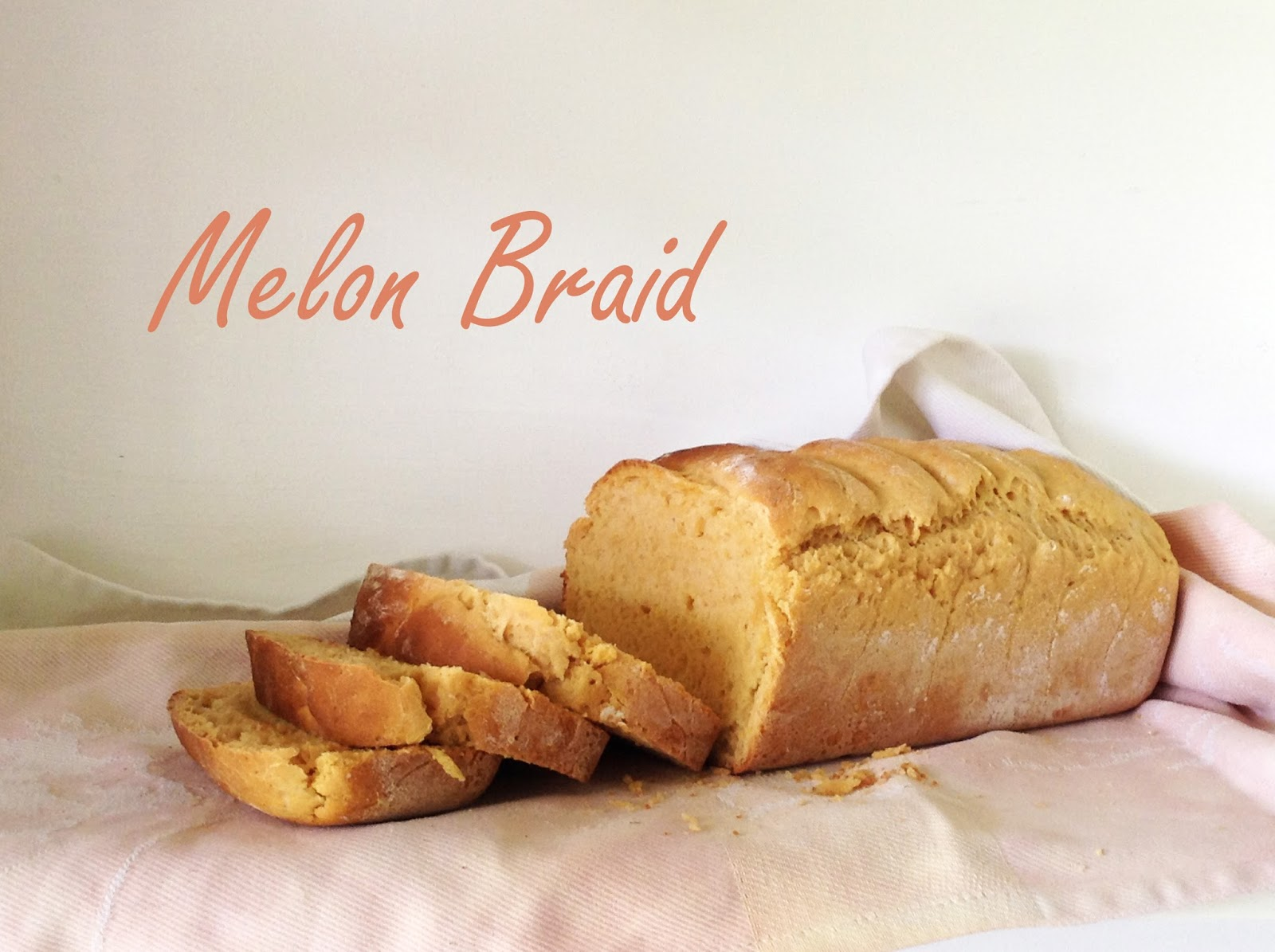 bread braid watermelon melon bake baking sweet pink