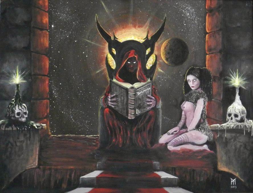 Lilith llego al Mar Rojo, donde se convirtió en amante del demonio Samael.
