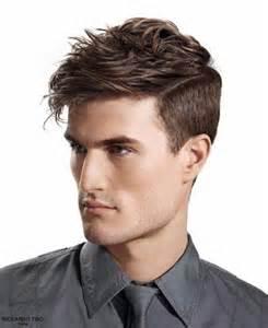 Model rambut pria gemuk shaggy samping