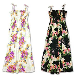 Long Smocked Tube Dresses
