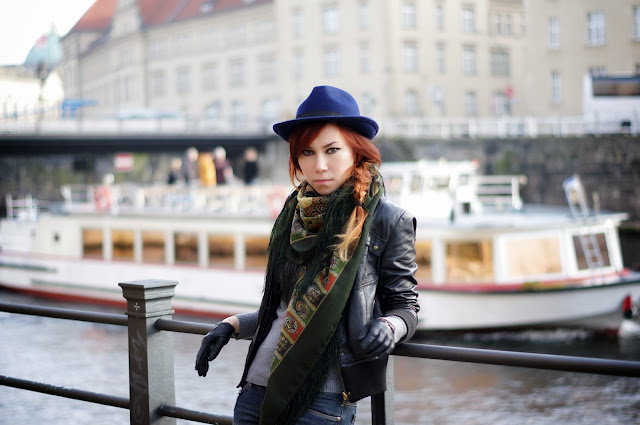 Berlin Fall street style by Xenia Kuhn for www.fashionrolla.com