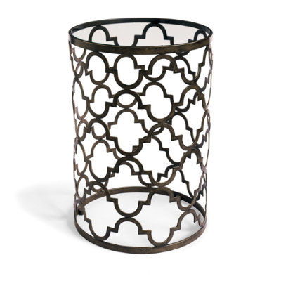 GRANDIN ROAD QUATREFOIL TABLE