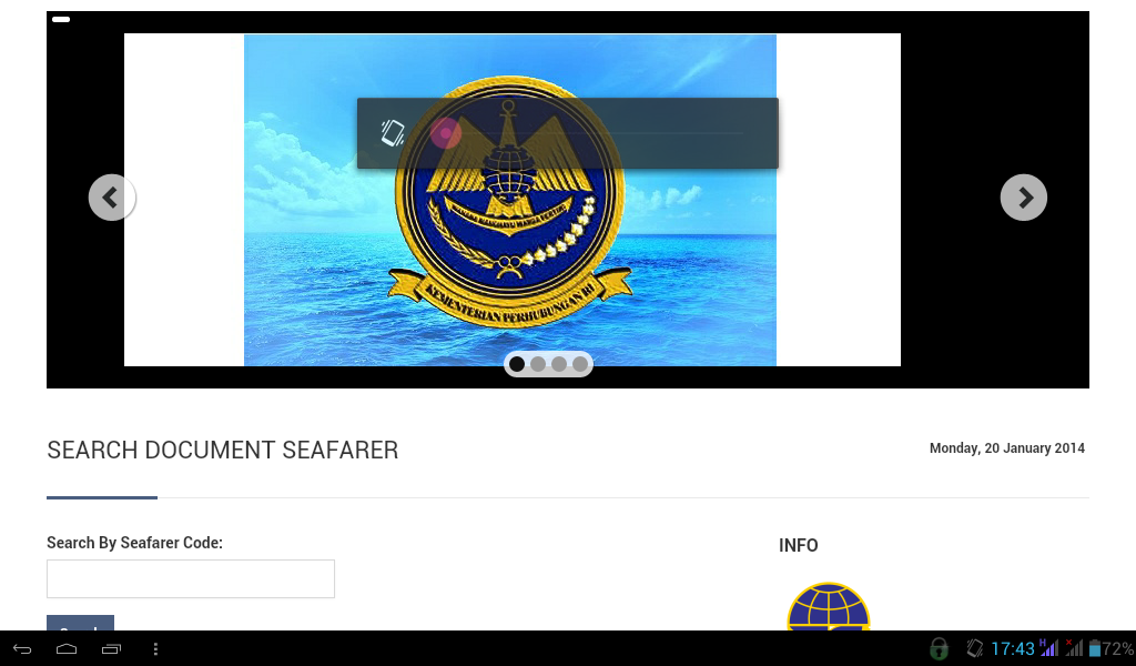 Alamat Online Sertifikat Pelaut Terbaru 2014