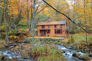 Il sogno di cambiare vita una casa nel verde cucina green for Case moderne nei boschi
