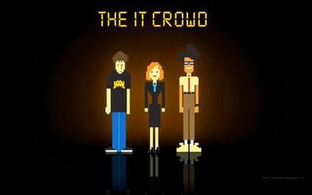 Portada de las serie Los informáticos (The IT Crowd)