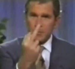 Bush an asshole