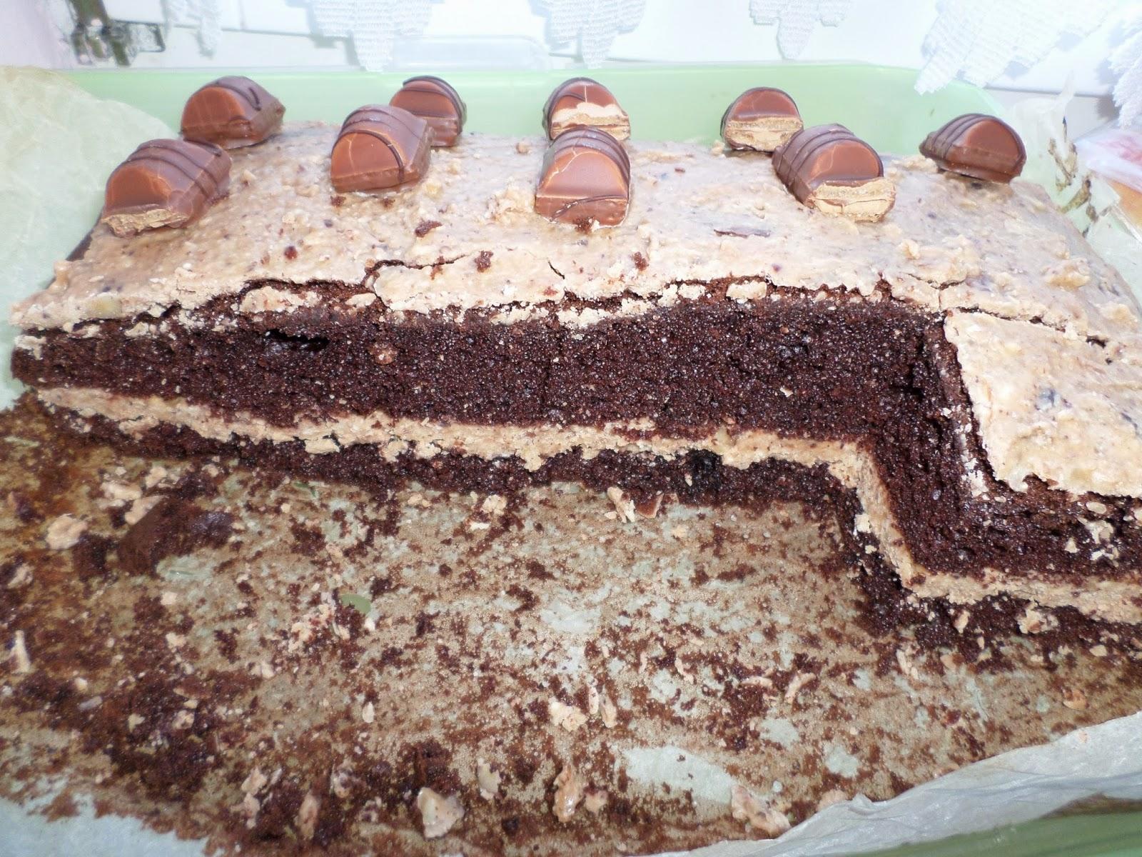 Cukrowa Pasja Ciasto Kinder Bueno