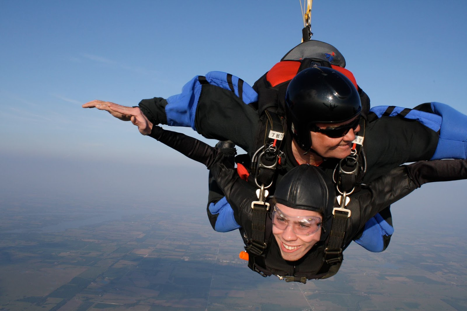 My Boy Skydiving for the First Time