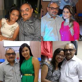 Weslaynne Andrade, Mércia Cardoso, Irilene Cardoso e Munique Silva