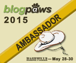 I'm a BlogPaws Ambassador for the 2015 Conference!