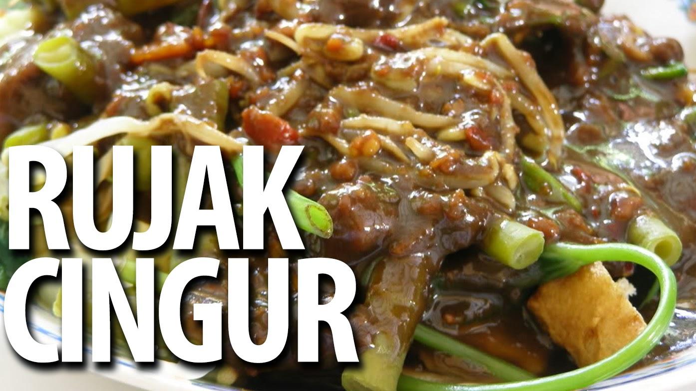 rujak cingur resep masakan praktis rumahan indonesia