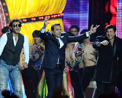 ypd dharam pa ji sunny and booby in iifa 2011