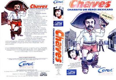 Filme Charrito - Um Herói Mexicano DVD Capa