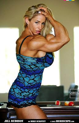 jill rudison muscle morph