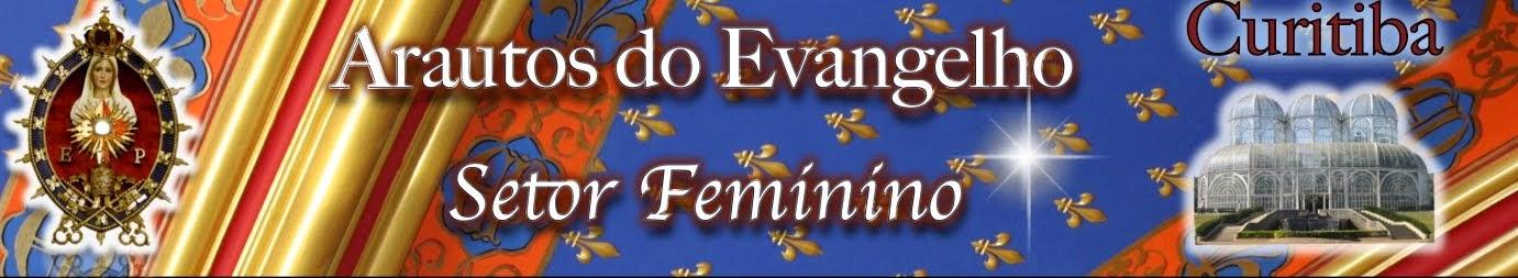 Arautos do Evangelho setor feminino Curitiba