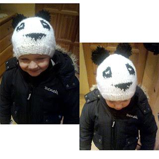 Czapka panda odsłona druga