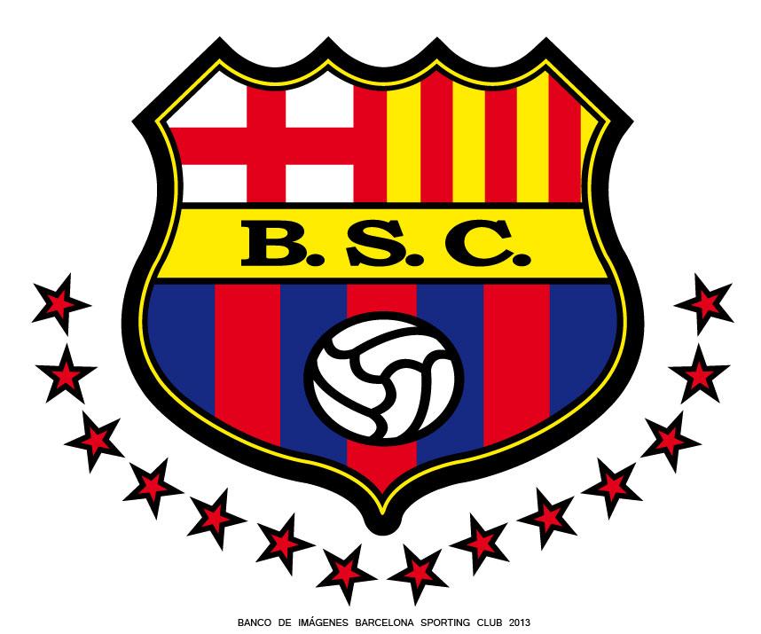 Nuevo Escudo De Barcelona Sporting Club 2013 Con 14 Estrellas Imagen