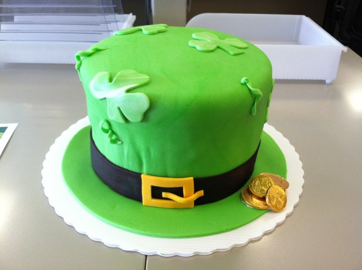Bashert Cakes Irish Hat Cake