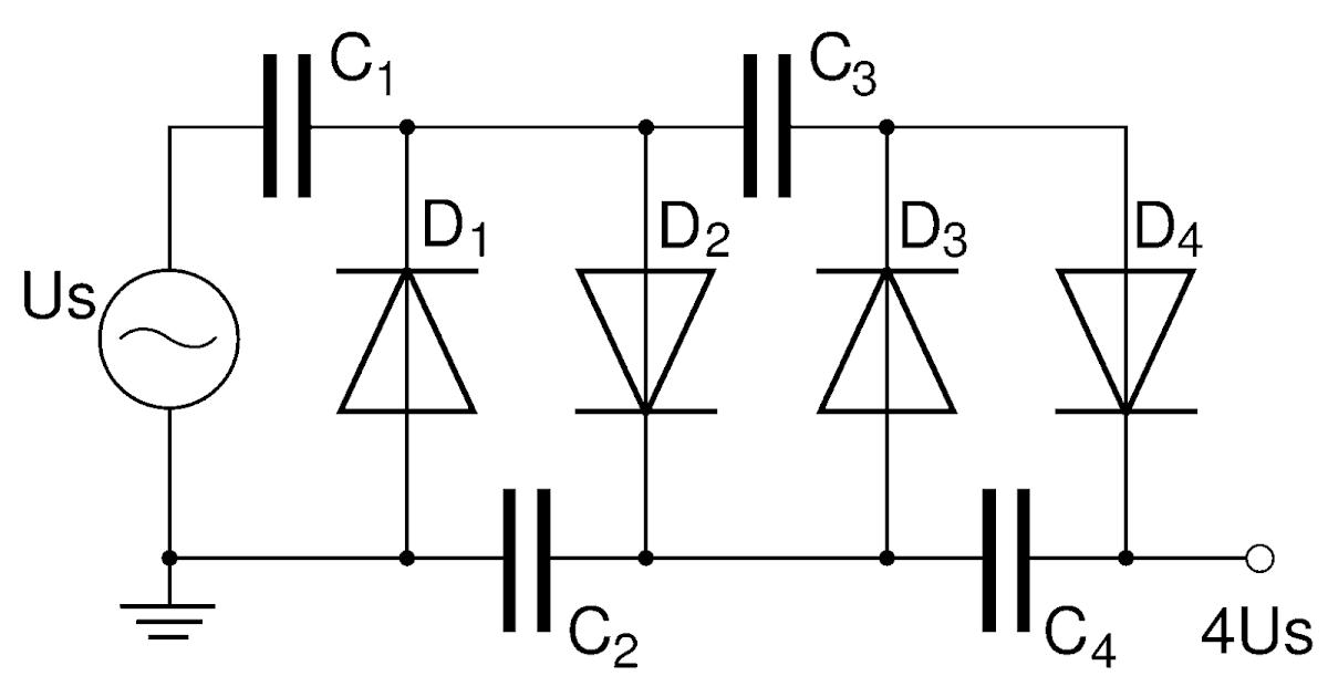 your mentor  voltage multiplier