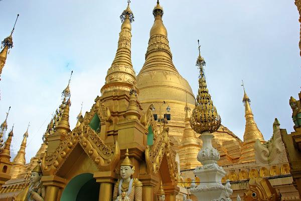 Pagoda Shwedagon de Rangun - Myanmar (Birmania)