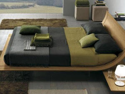 Bedroom Interior Design Ideas, Using Curved Bases and Headboard , http://homeinteriordesignideas1.blogspot.com/