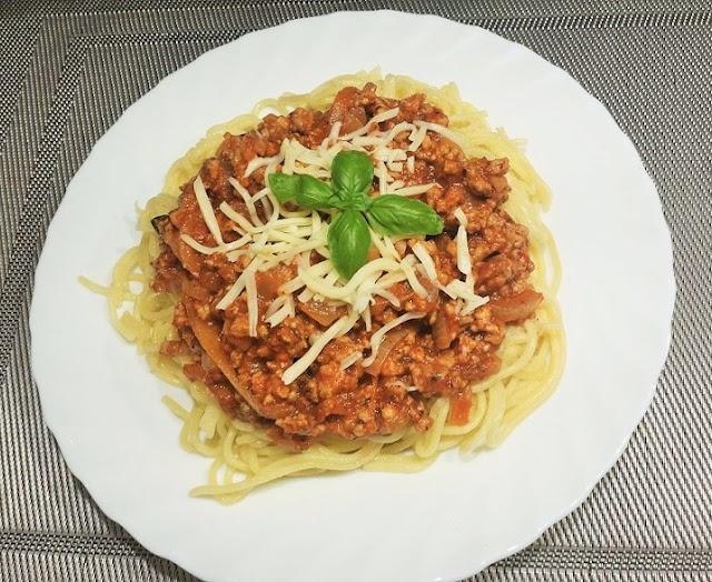 przepis na spagetti