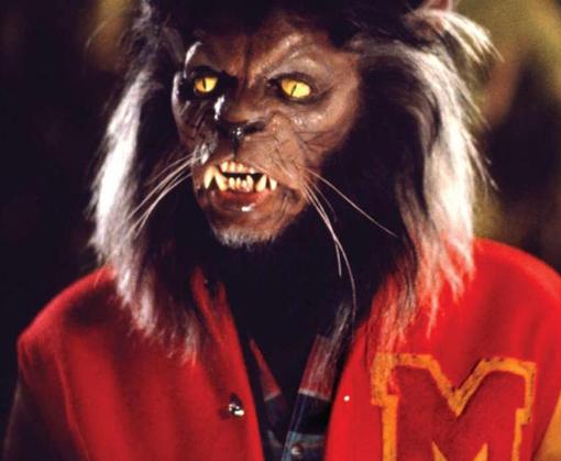 Michael Jackson maquillado de hombre gato