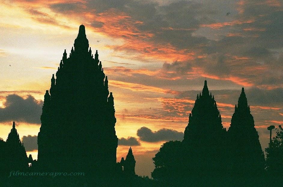Prambanan Sunset