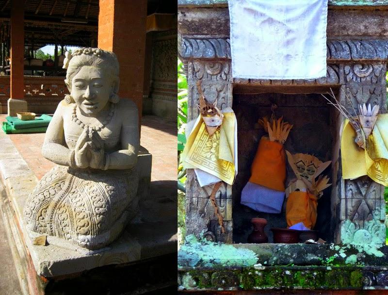 Happy Us Book - Bali - offrandes