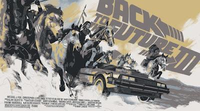 Back to the Future Part II Variant Screen Print by Matt Taylor & Mondo