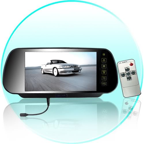 Rydeen MV311T RearView Mirror wBack Up Camera Monitor and
