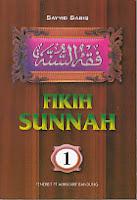 toko buku rahma: buku FIQIH SUNNAH 1, pengarang sayyid sabiq, penerbit alma'arif bandung
