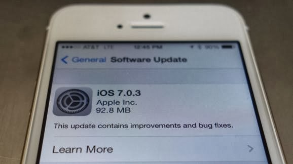 Apple iOS 7.0.3