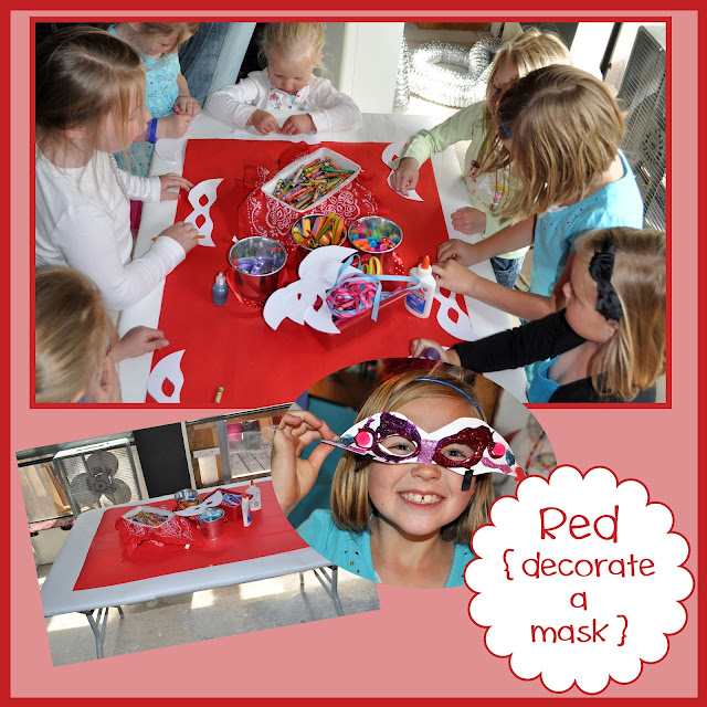 Rainbow Activities {decorate a mask}