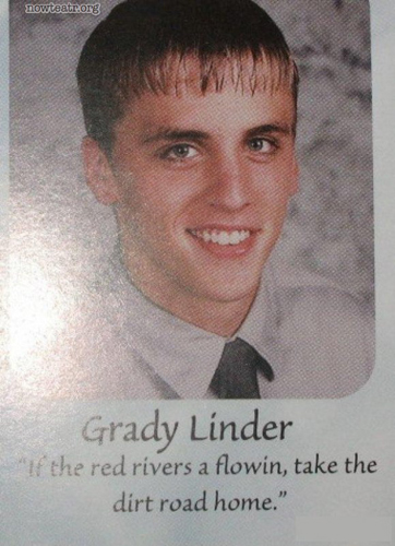 hilarious high school yearbook quotes