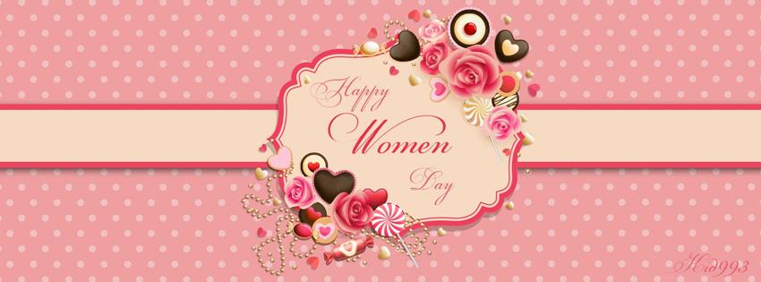 Hình nền Facebook chào mừng ngày quốc tế phụ nữ 8-3